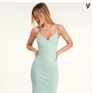 Lulu's Bodycon Midi Dress